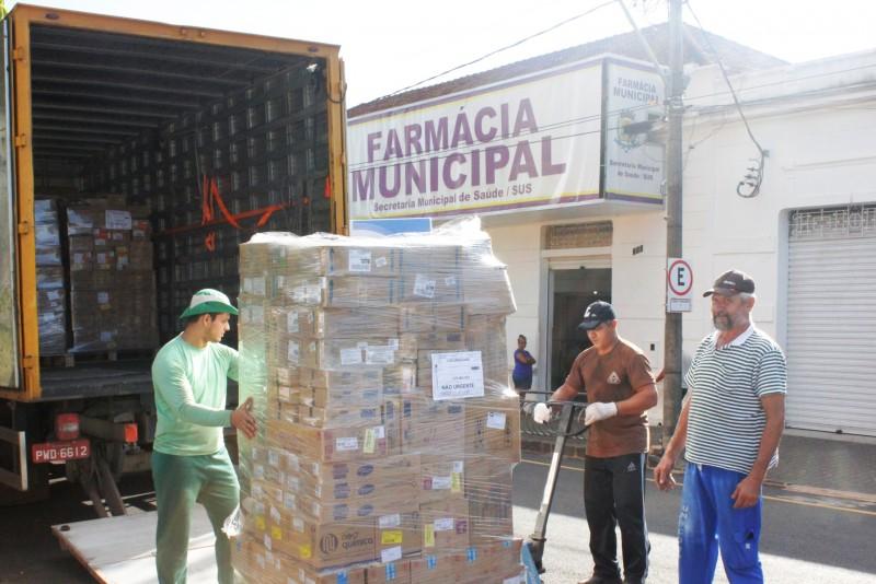 Farmácia Municipal de Araguari recebe 98 itens de medicamentos